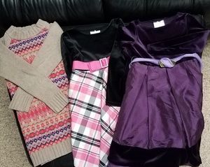 Other - Lot of 3X Long Sleeve Girls Dresses